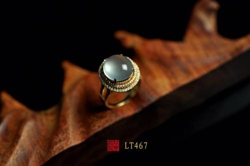 LT467玻璃种戒指