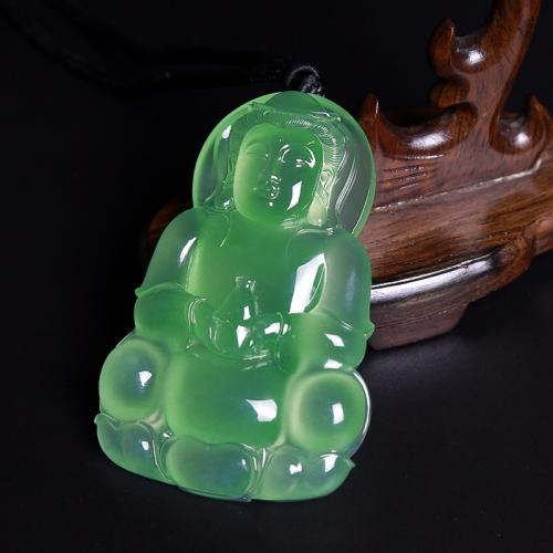 内蒙古LH16  玻璃种晴水观音