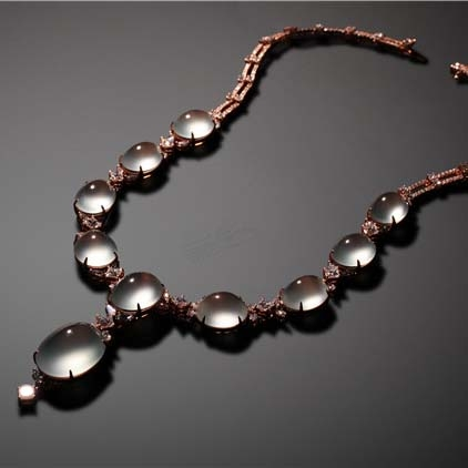 LT215  玻璃种套链